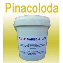 Sucre à barbe à papa Ananas-Coco/Pinacolada 1000 grs