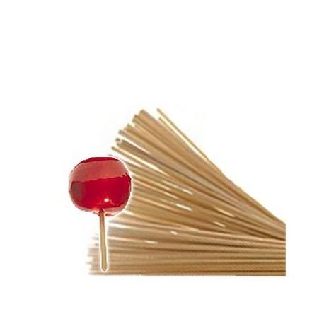 Pack de 2000 bâtons en bois 15 cm pour pomme d'amour