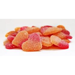 Coeur de Pêche sucré Sachet de 1 kg Dulceplus