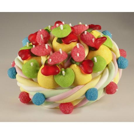 Gâteau de Bonbons Fruits 414 grs