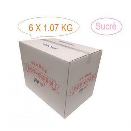 Pop corn Sucré vrac sac de 1.07 Kg (Environ 60 litres)