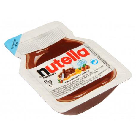 Barquettes Nutella 15 grs - Boite de 120 portions