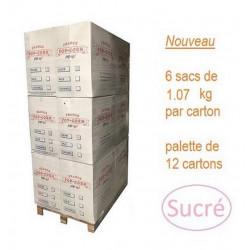 Pop corn Sucré vrac 72 sacs x 1,07 Kg (Environ 72 x 20 litres)