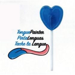 Sucette Coeur Framboise Tache Langues sachet 100 Unités
