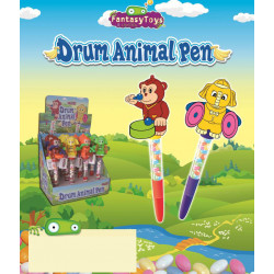 Drum Animal Pen - Candy x 12 unités