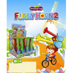 Funny Horn 2 - Candy x 12 unités