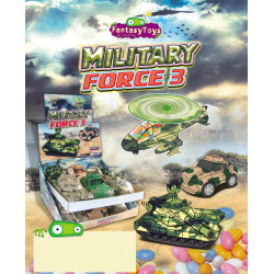 Military Force 3 - Candy x 12 unités