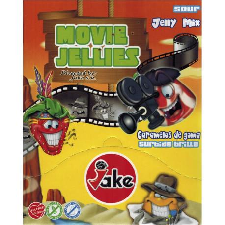 Movie Jellies Mix Lisse. Boite 50 Unités