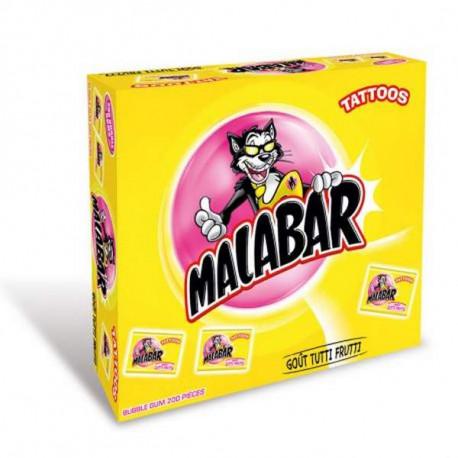 Malabar Tutti Frutti Boite de 200 pièces