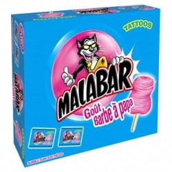 Malabar Barbe à Papa Boite de 200 pièces