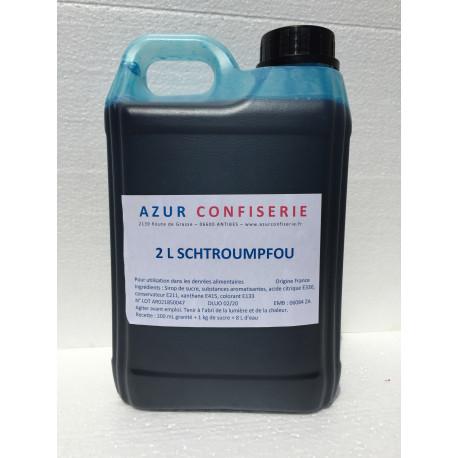 Concentré Schtroumpfou pour granité 2 litres