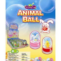 Animal Ball Candy x 12 unités