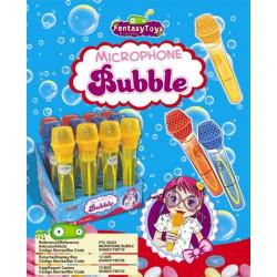 Microphone Bubble x 12 unités