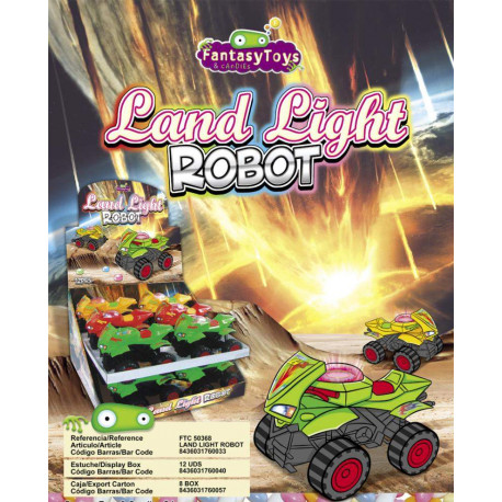 Land Light Robot x 12 unités