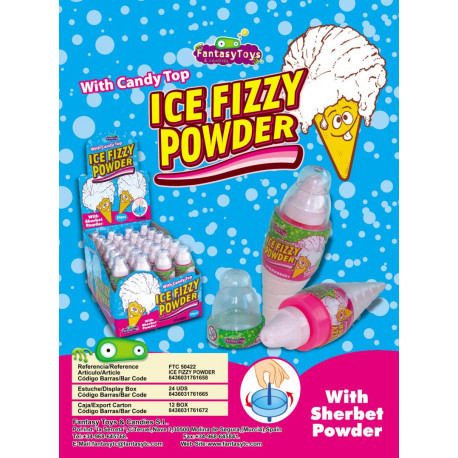 Ice Fizzy Powder x 24 unités