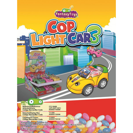 Cop Light Car 3 x 12 unités