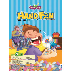 Handy Fan x 12 unités