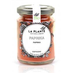 Paprika Bio pot de 40 Grs