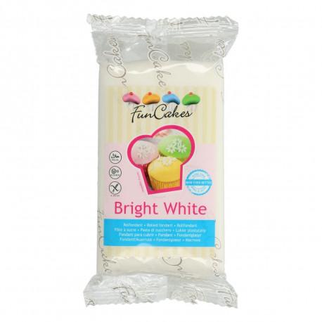 Pâte a sucre/Fondant déco Blanc Funcakes 250 grs