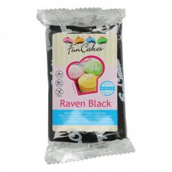 Pâte a sucre/Fondant déco Raven Black Funcakes 250 grs