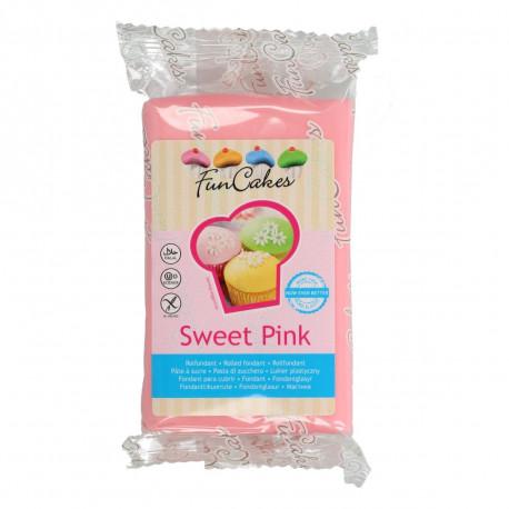 Pâte a sucre/Fondant déco Sweet Pink Funcakes 250 grs