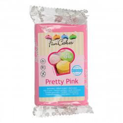 Pâte a sucre/Fondant déco Tretty Pink Funcakes 250 grs