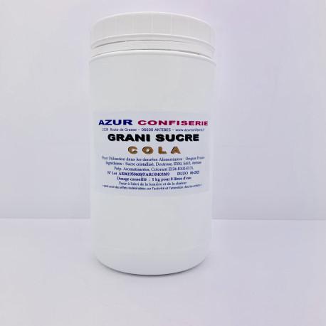 Arôme Poudre pour granité Prêt à l'emploi Cola 1 Kilo