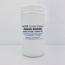 Arôme Poudre pour granité Prêt à l'emploi Menthe verte 1 Kilo