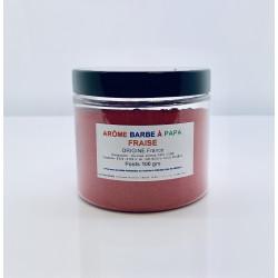 Arôme barbe à papa Fraise Pot 100 Grs