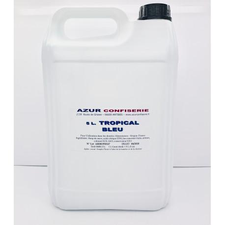 Grani Drink Tropical Bleu pour granité Prêt à l'emploi 5 litres