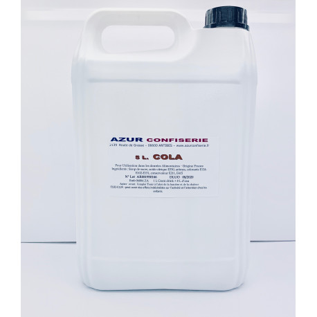 Grani Drink Cola pour granité Prêt à l'emploi 5 litres