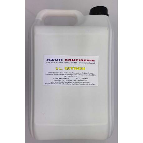 Grani Drink Citron pour granité Prêt à l'emploi 5 litres