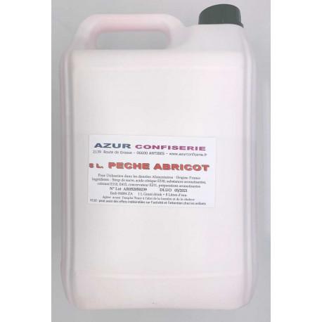 Grani Drink Pêche Abricot pour granité Prêt à l'emploi 5 litres