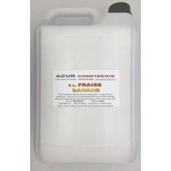 Grani Drink Fraise Banane pour granité Prêt à l'emploi 5 litres