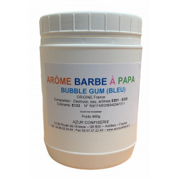 Arôme barbe à papa Bubble gum 480 Grs