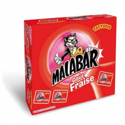 Malabar Fraise Boite de 200 pièces