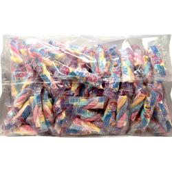 Marshmallow Twist torsadé emballé individuellement Sachet de 110 pièces