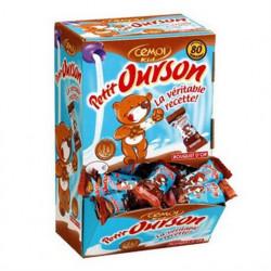 Oursons guimauve enrobée de chocolat Boîte 80 Petits - Cémoi