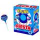 Sucette Kojak Fiesta fourrée Bubble gum boite présentoir de 100