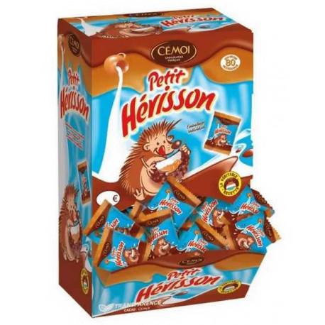 Petit Hérisson guimauve enrobée de chocolat Distributeur 80 - Cémoi