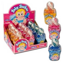 Baby Sucker sucettes en forme de tétine x 12 unités