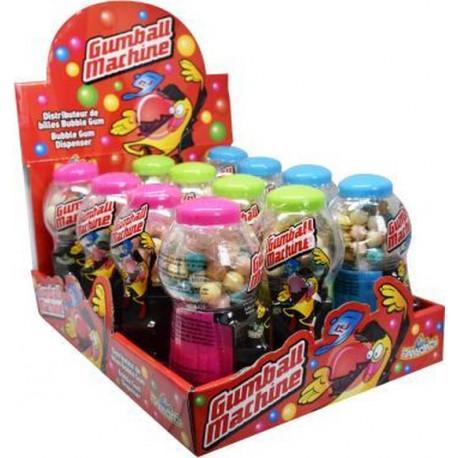 Mini Gumball Machine x 12 unités