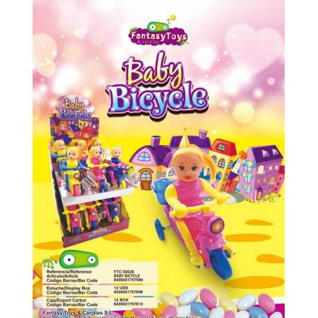 BABY BICYCLE x 12 unités
