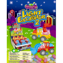 LIGHT EXCAVATOR 2 x 12 unités