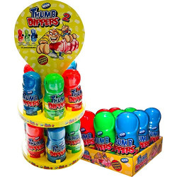 Alien Squeeze Candy Display x 22 unités Brabo