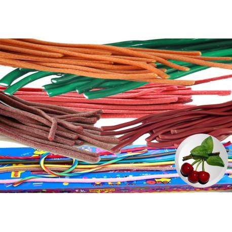 Cable Cerise Lisse Réglisse - Luna-Park 67 cm carton de 100 pièces