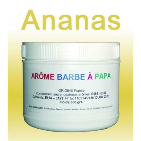 Arôme barbe à papa ananas 300 Grs