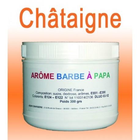 Arôme barbe à papa Châtaigne 300 Grs