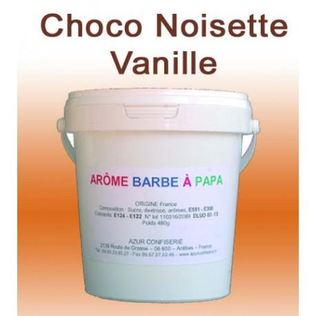 Arôme barbe à papa choco-noisette-vanille 480 Grs