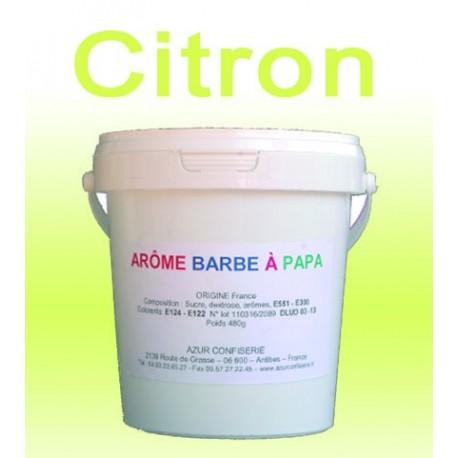 Arôme barbe à papa Citron 480 Grs